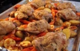 Голень курицы с картошкой в духовке: рецепты и особенности приготовления