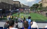 В Киеве открыли фан-зону Лиги Чемпионов УЕФА