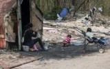 В Киеве разгромили другой лагерь цыган