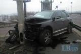 Женщина поле организовал аварию на мосту Патона