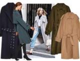 Модные пальто и тренчи на осень: где купить и выбрать