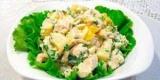 Ананасовый салат с курицей и грибами: рецепты с фото