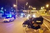 В Киеве Skoda въехал в три автомобиля, погиб мужчина