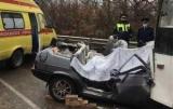 В Крыму в ДТП с троллейбусом погибли четыре человека