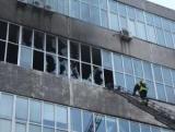 В Киеве горел обувной фабрики, рабочие эвакуированы