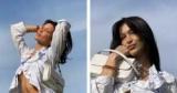 В стиле 2000-х: Белла Хадид с модной сумкой-багет